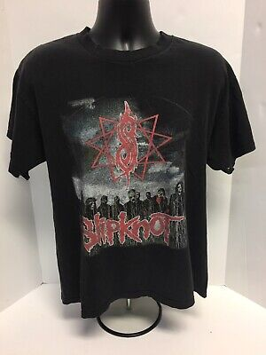 Slipknot Band Tee Concert Tour T Shirt 2009 All Hope Is Gone Size Large 2 Sided