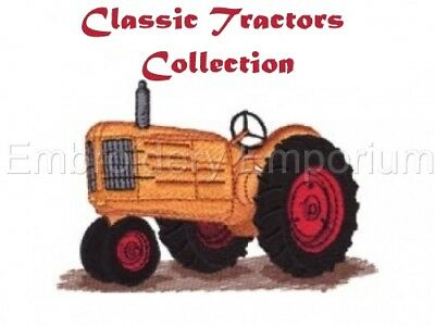 Classic Tractors Collection - Machine Embroidery Designs On Cd Or Usb