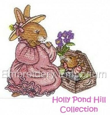 Holly Pond Hill Collection - Machine Embroidery Designs On Cd Or Usb