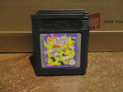 Nintendo gameboy Rugrats The Movie game
