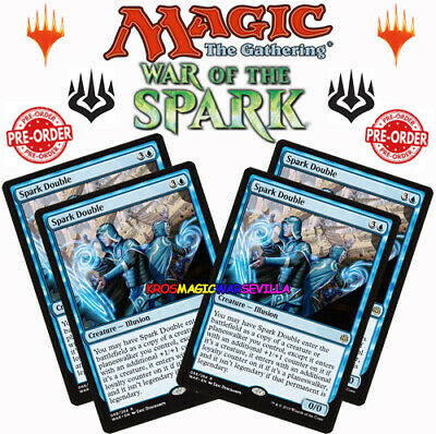 PRE-ORDER 4 X Spark Double - WAR OF THE SPARK  ENGLISH MTG MAGIC NEW