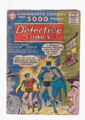 Detective Comics # 234 Mystery of their own Identities ! grade 1.8 scarce book !