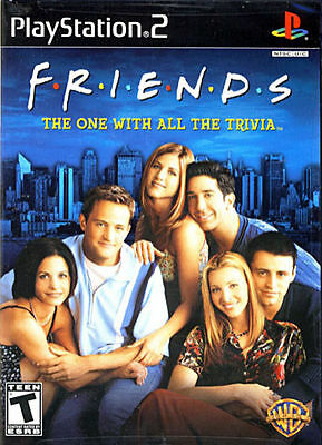 Friends: The One With All The Trivia for Sony PlayStation 2 case replacement