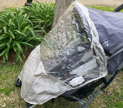 Maclaren stroller raincover.  Maclaren Vogue or techno raincover