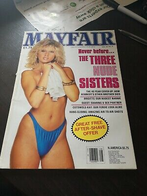 MAYFAIR Adult Men's Magazine   -   Excellent Condition -    Vol. 25      No. 8