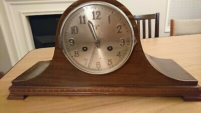 Fully Working Mid-1900's Mauthe Mantel Clock