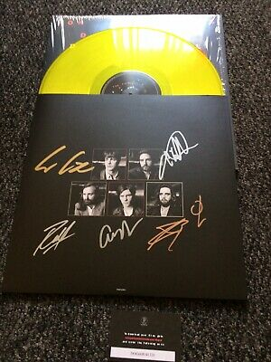 FONTAINES D.C Dogrel SIGNED Ltd Edition Transparent Yellow Vinyl New