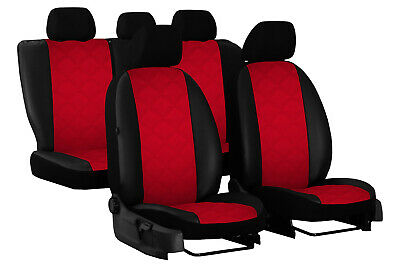 Eco Leather Embossed Tailored Seat Covers For Seat Arona 2017 Onwards