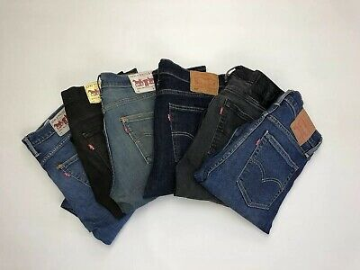 Levi Levis Extreme Skinny Fit 519 Jeans - 519 - Free Postage All Sizes Grade A