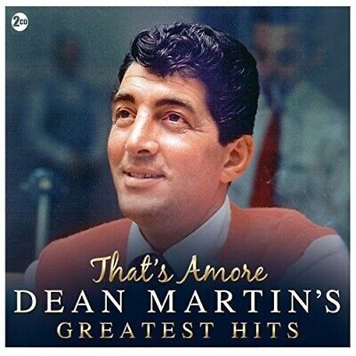 That's Amore ~ Dean Martin's Greatest Hits - 2 CD Box Set ~ New - Factory Sealed