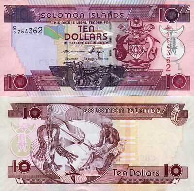 SALOMONE ISOLE - Solomon Islands 10 dollars 2009 FDS UNC