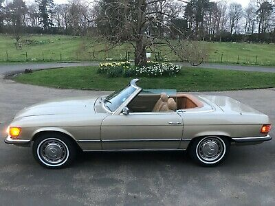 1973 Mercedes Sl450,usa Import,rust Free,lhd,orig Small Bumpers,stunning Car!!!