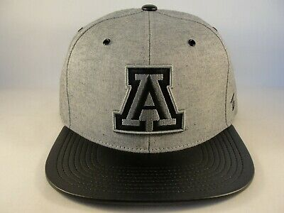 195f61a111c38 ARIZONA WILDCATS NCAA Zephyr Snapback Hat Cap Gray Black -  25.00 ...