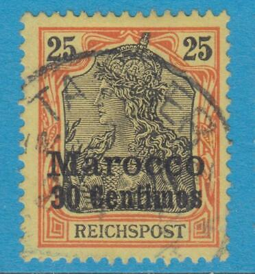 German Colonies Offices In Morocco 11 Used  No Faults Extra Fine !