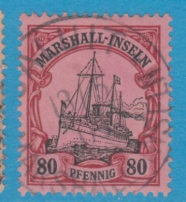 German Colonies Marshall Islands 21  Used No Faults Extra Fine !
