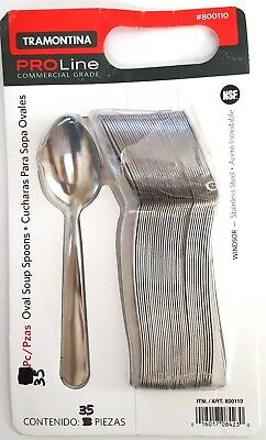 Tramontina Pro Line 36 Teaspoons Commercial Grade Stainless Steel 1, A