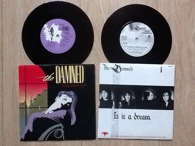 "The Damned . Thanks For The Night & Is It A Dream 7"" Singles"