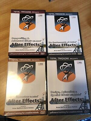 Total Training For Adobe After Effects DVD Set