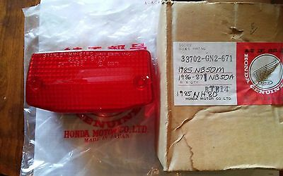 honda nb50 nh80 tailight lense 33702-gn2-671 NOS