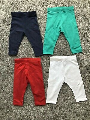 Girls NEXT 4 Cropped Leggings Summer Holiday Bundle Some Never Worn 18-24 Months