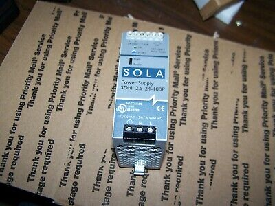 Used Sola 2.5-24-100P Power Supply