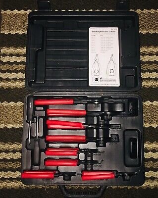 OTC Stinger Reversible 8 Piece Snap Ring Pliers Set 4512  (Very Good Condition)