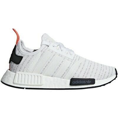a8068f608d0e4 ADIDAS BOYS NMD R1 J Black White Red - B42087 -  79.99