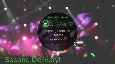 Spotify Premium LIFETIME UPGRADE   Instant Shipping   Worldwide   ✅Trusted✅