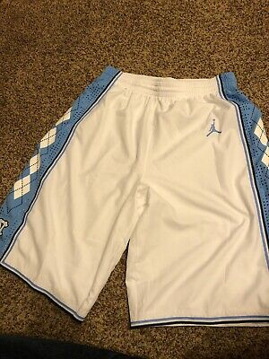 55a1b894040c3c Authentic Jordan Men s North Carolina Tar Heels UNC M Basketball Shorts.