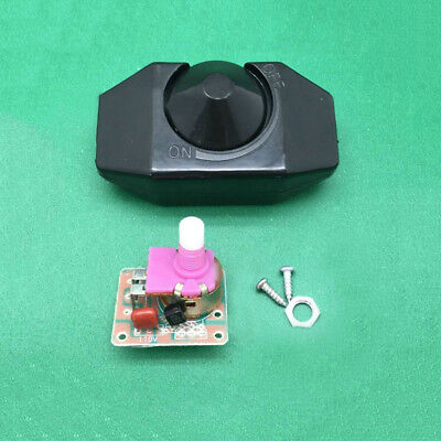 AC 220V Rotary Dimmer Wall Controller LED Light Switch For Dimmable LED Lamp Hot