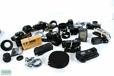 Lot of Nikon Auotfocus/Digital Cameras, Lenses & Accessories UNTESTED