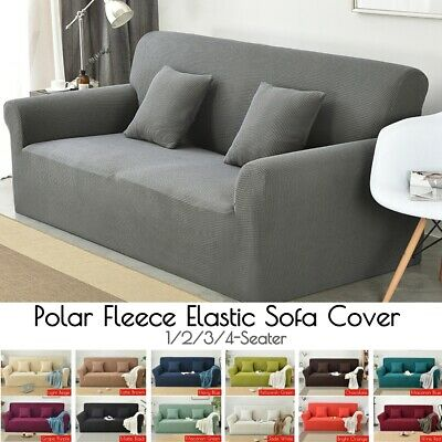 Stretch Sofa Cover Lounge Couch Removable Slipcover Protector 1/2/3/4 Seater