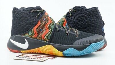 online store 7e58c 7162b Nike Kyrie 2 Used Size 12 Bhm Black Multi Color Black History Month 828375  099