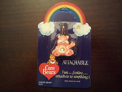 1984 Vintage Care Bears Figural Attachable Cheer Bear Figure Attaches 2 Anything