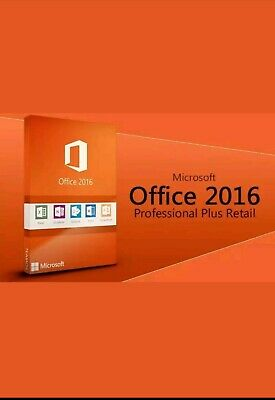 Microsoft Office 2016 Professional Plus MS Office PRO Plus 1 PC Multilingual
