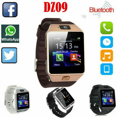 Smart Watches Bluetooth Smart Watch W/camera Waterproof Phone Mate For Android Samsung Iphone Wristwatches