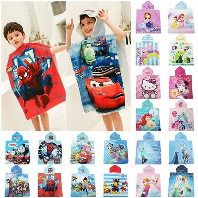 Captain America Captain America Childrens Bath Poncho Official Marvel Character Hooded Towel