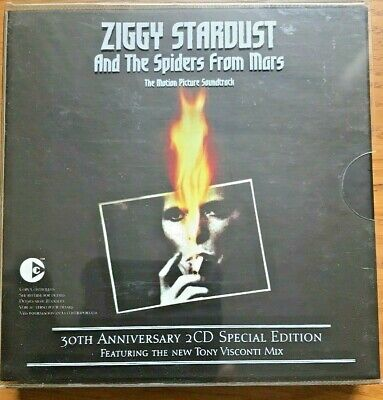 David Bowie 30th  Ziggy Stardust And The Spiders From Mars Soundtrack RED CDs