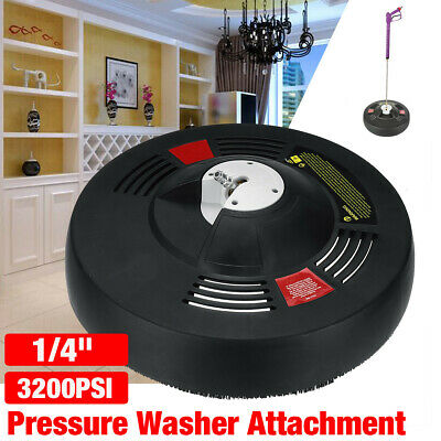 16'' Pressure Washer 1/4'' Quick Release Rotary Surface Patio Cleaner 3200PSI
