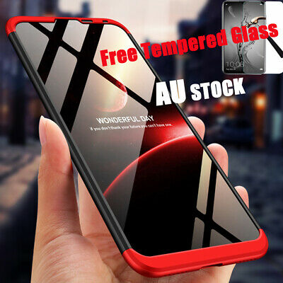360°Full Body Shockproof Slim Cover Heavy Duty Case For Huawei Y7 Pro Prime 2019