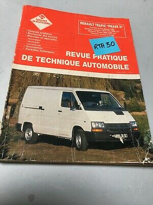 Renault Trafic phase II Revue Pratique Technique Automobile Expert RTA