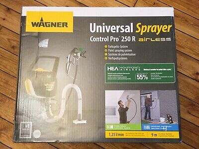 Wagner Airless ControlPro 250 R Paint Sprayer for Wall & Ceiling/Wood & Metal
