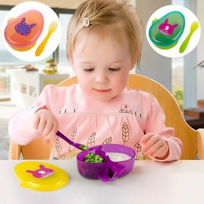 Supplement Snacks Holder Feeding Container Anti Spill Baby Food Storage Bowls