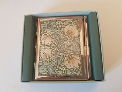 Vintage Past Times - Art Deco Style Brass Address Book - Boxed!   Unused.