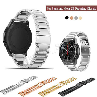 For Samsung Gear S3 Frontier/Classic Stainless Steel Luxury Wristband Watch Band