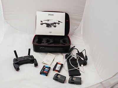 DJI Spark (Meadow Green) Fly More Combo Bundle - Drone is  Brand New