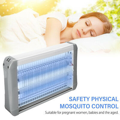 20W Electric UV Insect Killer Mosquito Fly Bug Pest Zapper Catcher Trap LED