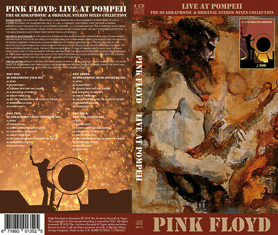 Pink Floyd – Live At Pompeii 4 CD Longbox Limited Edition
