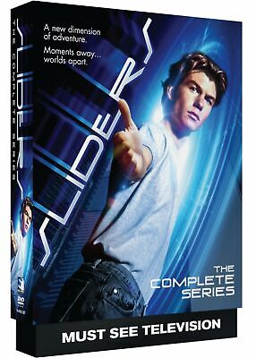 Sliders Jerry O'Connell Complete TV Series Seasons 1 2 3 4 5 Box / DVD Set NEW