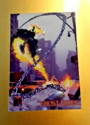 GHOST RIDER -promo trading card - VG